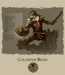Colosseum Bestia: 1 by Dyemelikeasunset