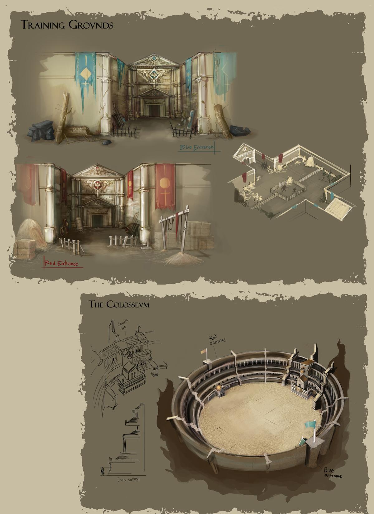 Colosseum Bestia 4 By Dyemelikeasunset On Deviantart