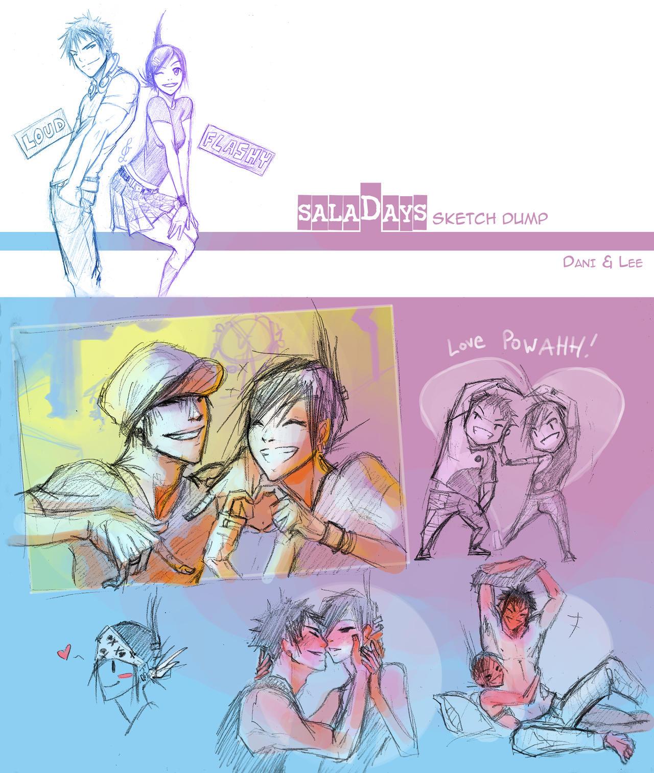 :SD: DaniLee sketch dump by Tyshea