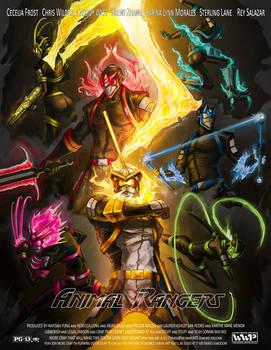 The Animal Rangers by Dyemelikeasunset