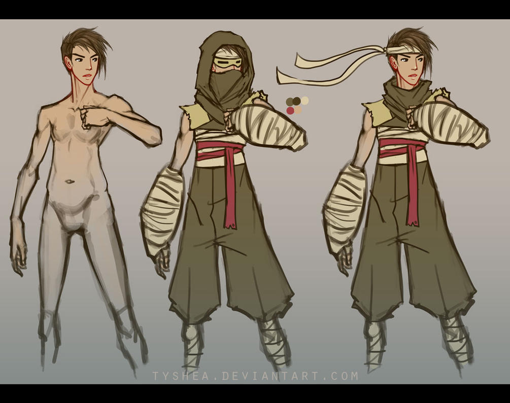 A:CtS Character Study [TI JINH] by Tyshea