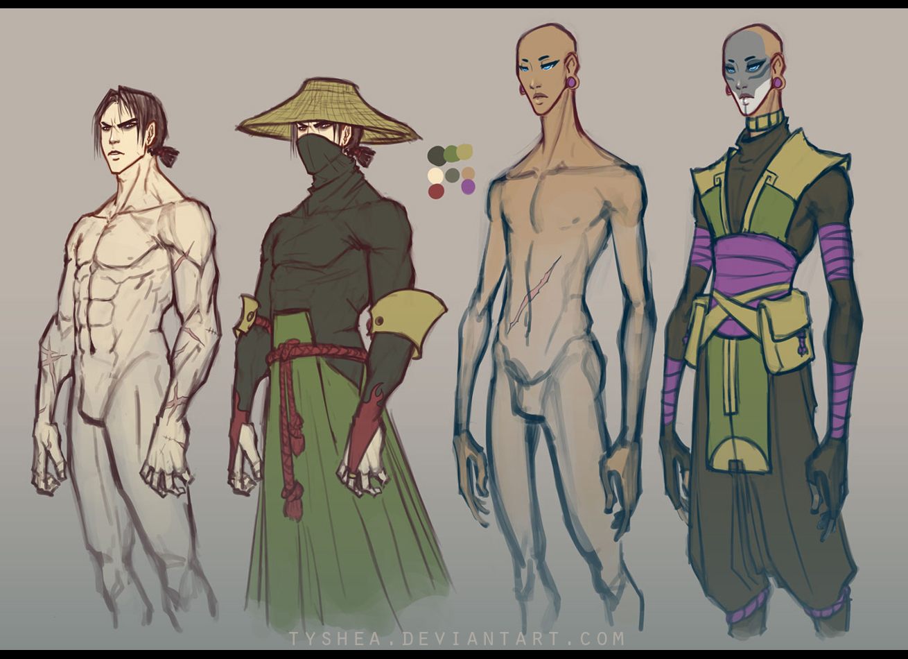 A:CtS Character Study [YAMA and MARDUK] by Tyshea