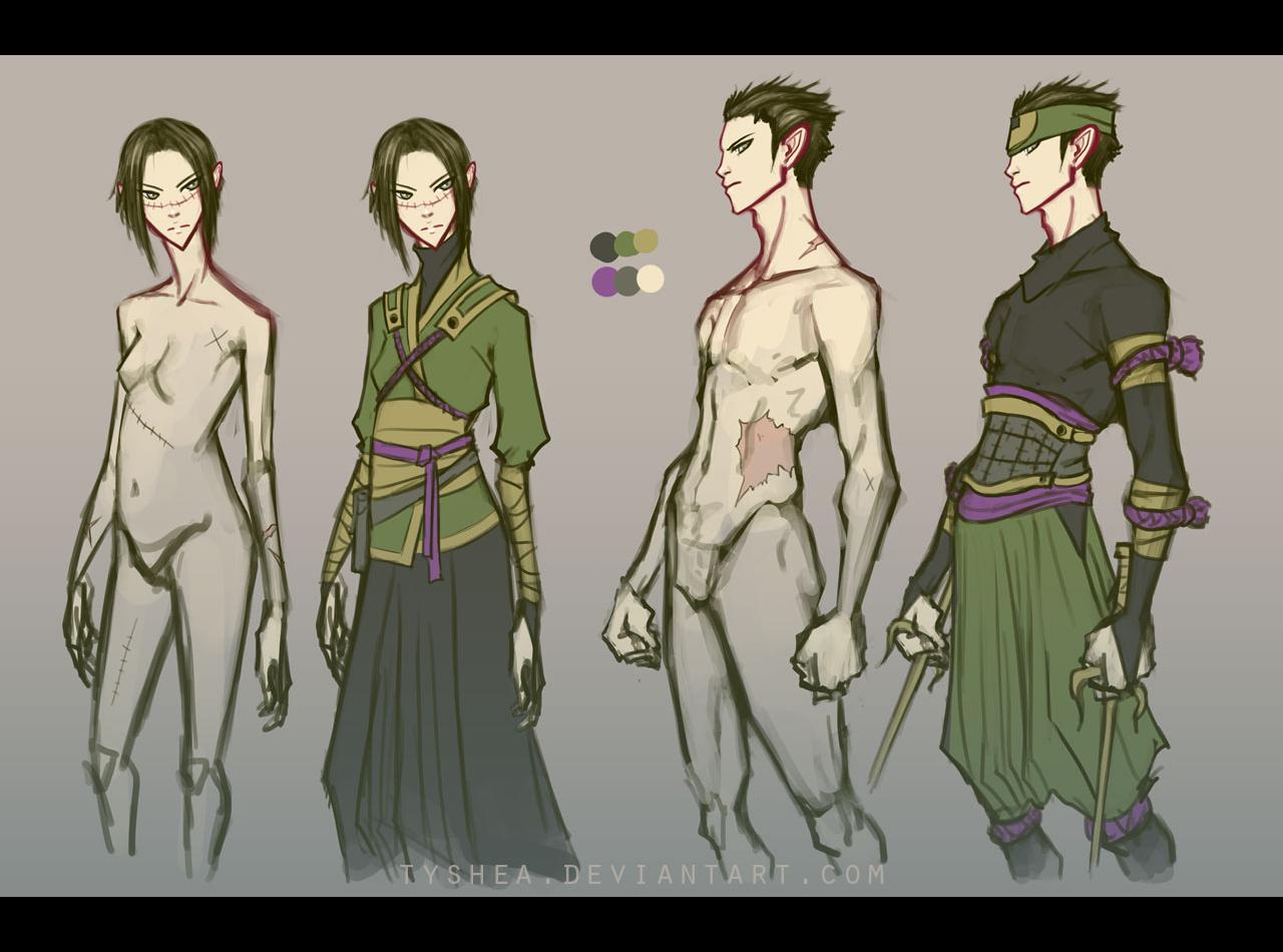 A:CtS Character Study [SEI and YOZU] by Tyshea