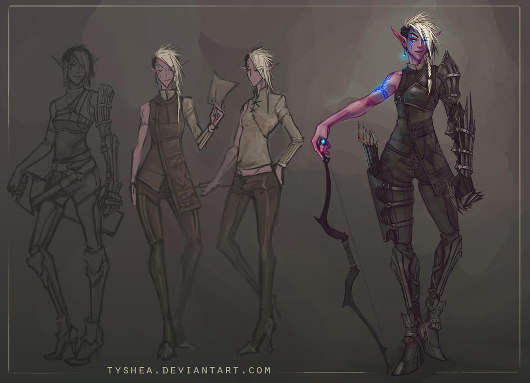 Elliel full body by Tyshea