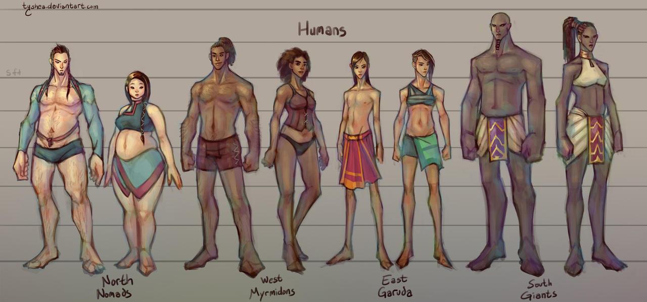 Fantasy Races: [1/4] Humans