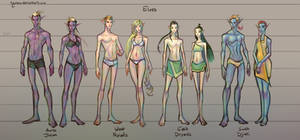 Fantasy Races: [2/4] Elves