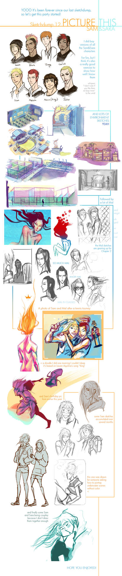 Picture This - Sketchdump 12 by Tyshea