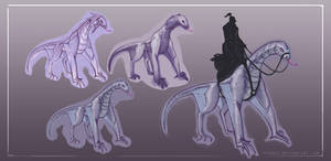 Fantasy Creatures: River Dragons by Dyemelikeasunset
