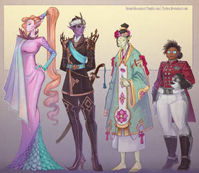 Formal Scrappers by Dyemelikeasunset