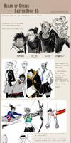 Fantasy Sketchdump 15