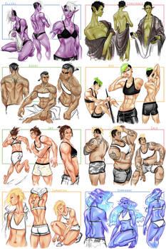 OC Body Study