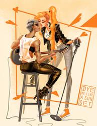 Orange by Dyemelikeasunset