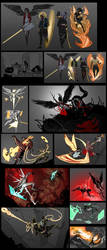 Guardians development art by Dyemelikeasunset