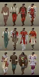 Garsend Wardrobe by Dyemelikeasunset