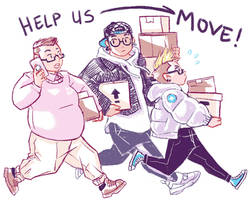 We're moving! Please help us out!