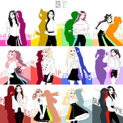 Finally Introducing LOONA by Dyemelikeasunset