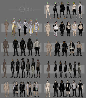 Solaris Outfit Spread [1 / 2]