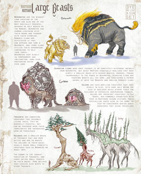 Northern Bestiary: Large Beasts