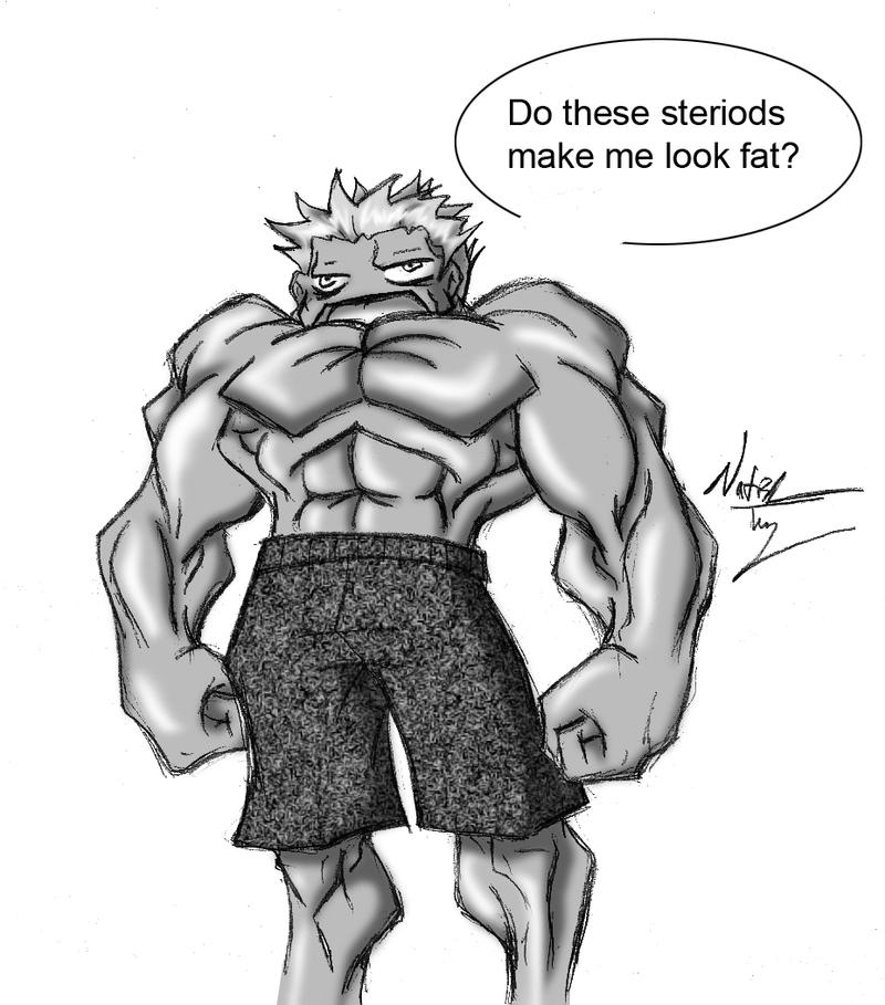 Steroids by Dyemelikeasunset