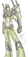 Army Ninja Cyborg Dude