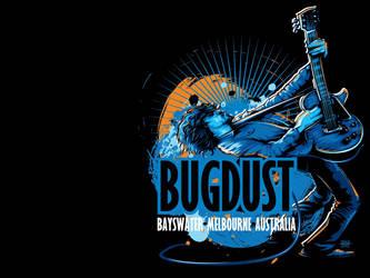 Bugdust - Sticker Design 3