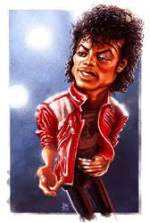 Michael Jackson (circa 1982) by ShannonTrottman