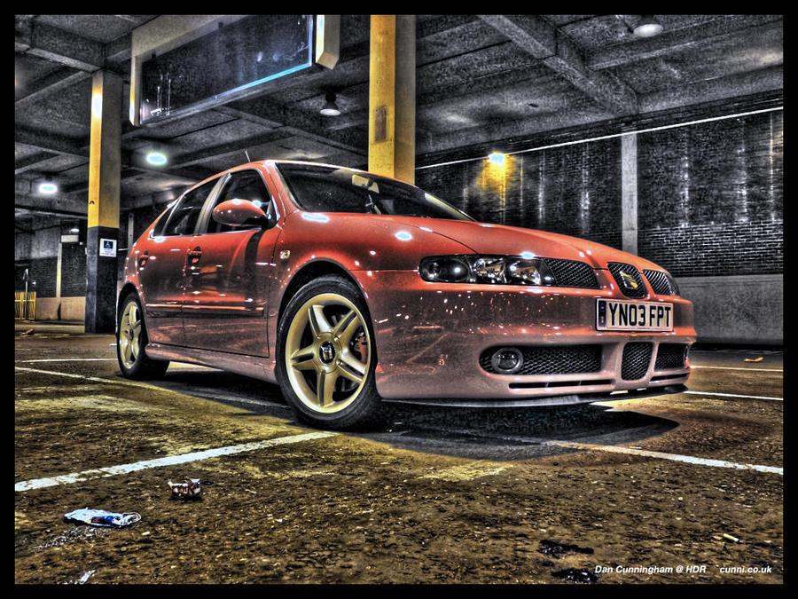 HDR Seat Leon Cupra by Cunni