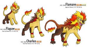 Fakemon: fire starter