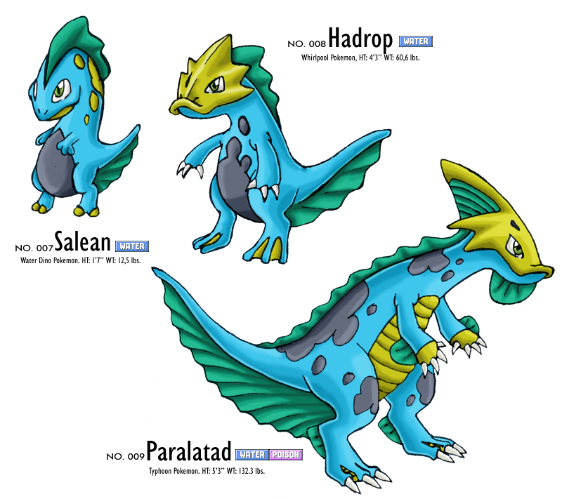 Snakes Is The Direction Game Like Wormies The Lines Are: Fakemon: Water Starter By Cm023 On DeviantArt