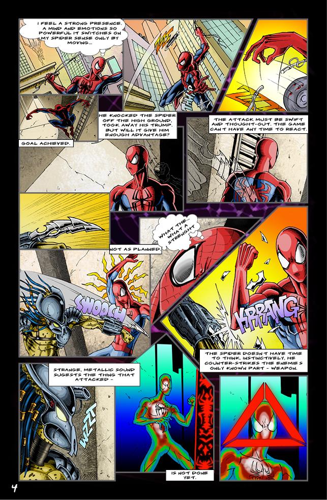 Spider-man vs. Predator page 2 by cm023 on DeviantArt