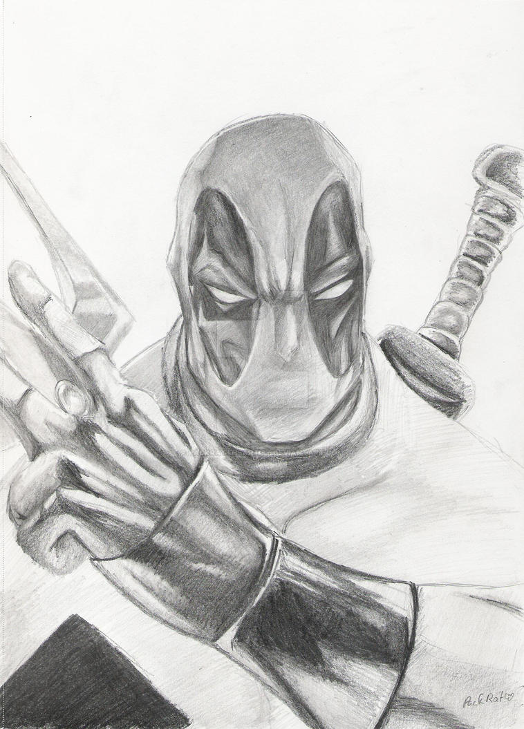 Deadpool by PackRatTheArtist