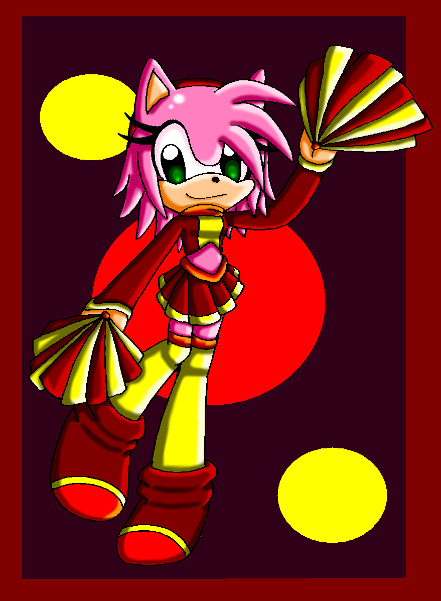 Cheerleader_amy rose by ASB-Fan