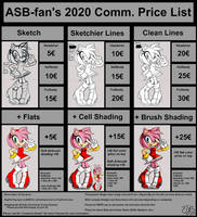 Commission List 2020
