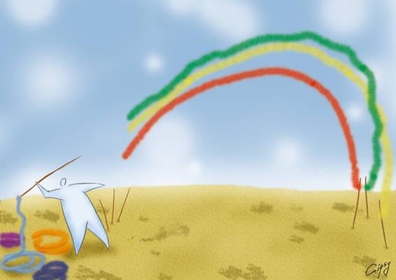 Rainbow thrower