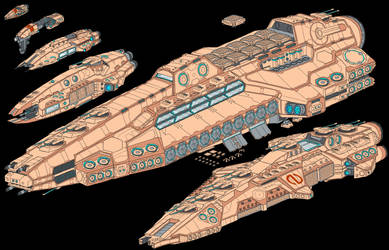 Dominion Capital Ships (Post Retcon)