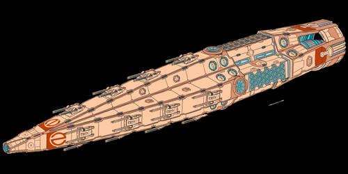 Transgressor Class Battlecruiser (Post Retcon)