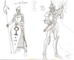Aos Si Concept Sketch by uhlrik