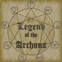 Legend of the Archons logo by uhlrik
