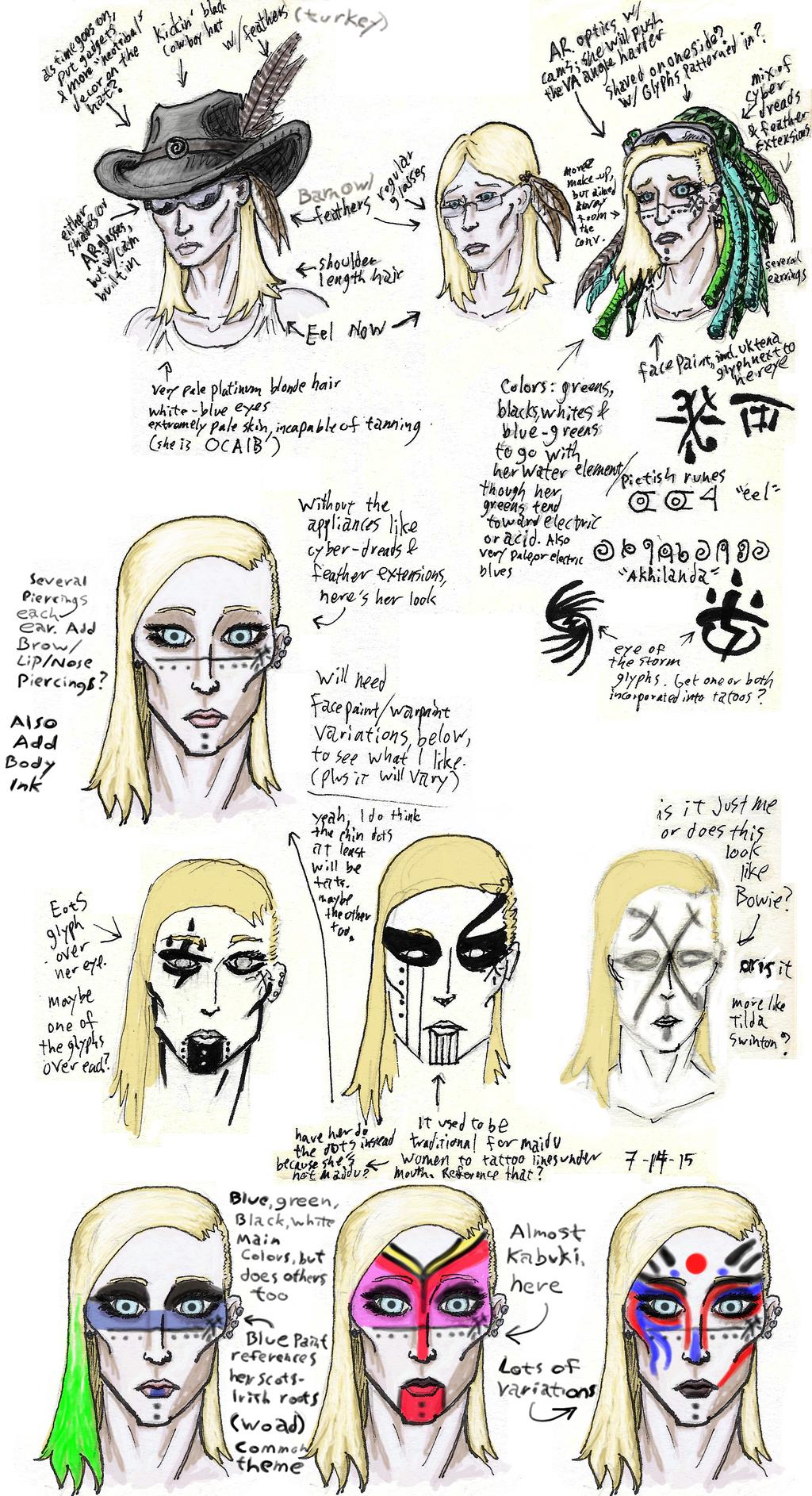 Eel's Makeover by uhlrik