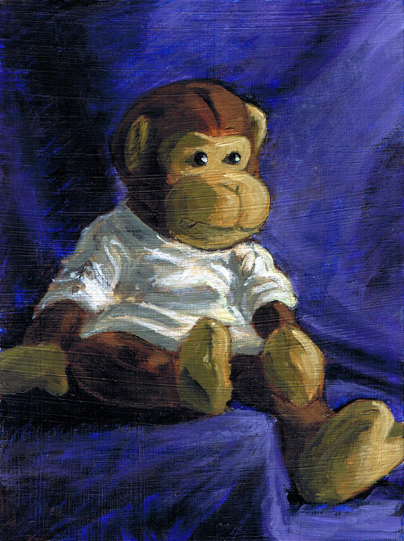 Monkey by uhlrik