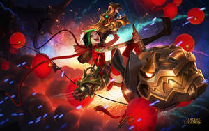 Firecracker Jinx by JasonChanArt