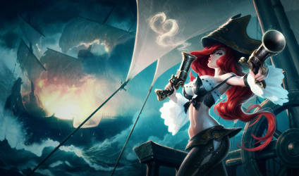 Miss Fortune by JasonChanArt