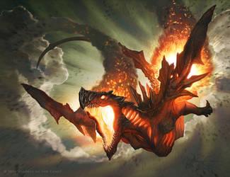 Hellkite Igniter by JasonChanArt