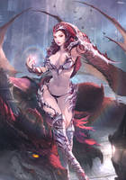 Macha Morrigan  The Phantom Havoc by lonwaA