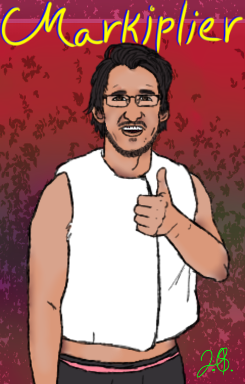 Markiplier Thumb Up! by Nightshade28681