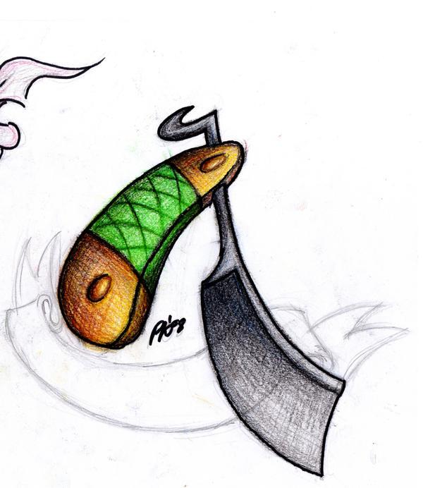 Cut throat razor by ninja zed on deviantart for Cut throat tattoo