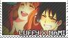Luffy x Nami Stamp by Euffa