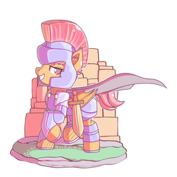 MLP | Commission: Armored by Anonsbelle