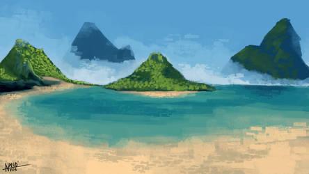 Beach by N4n0t3ck