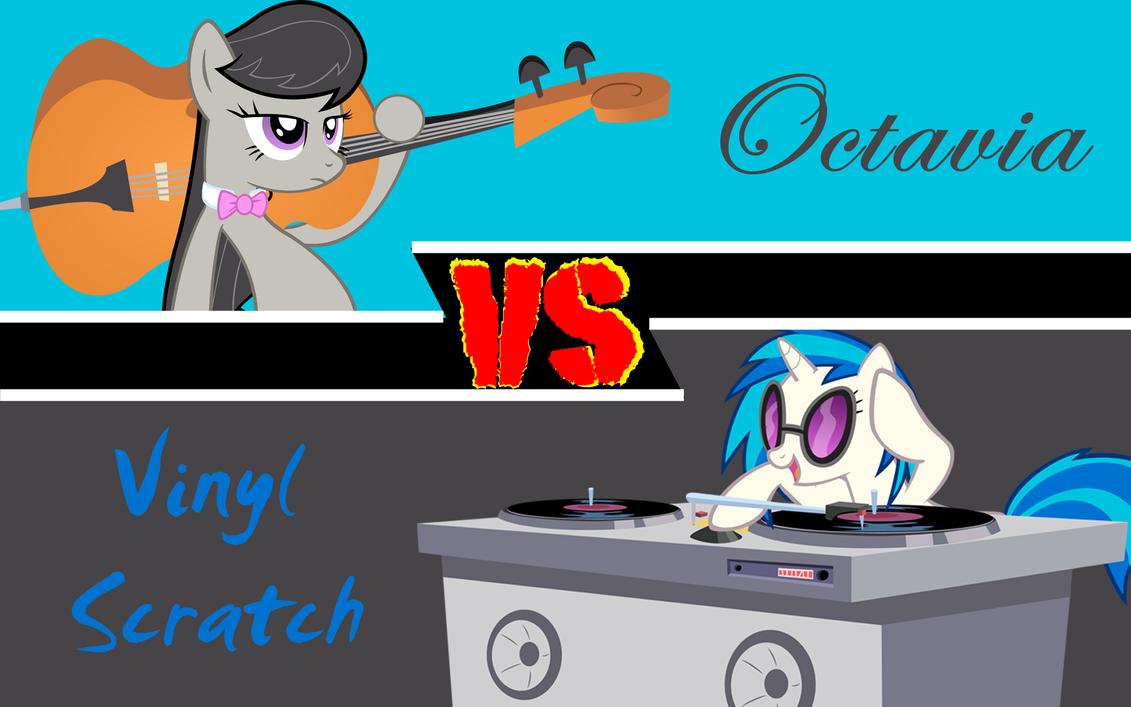 Shipping Versus Series Octavia Vs Vinyl Scratch By